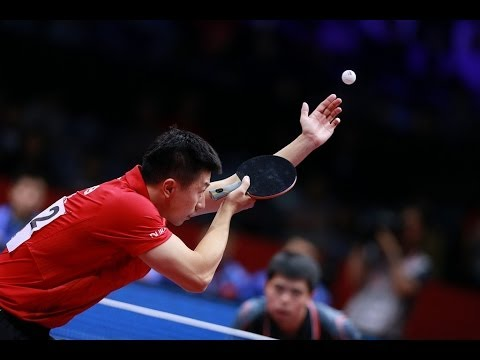China Open 2014 Highlights: Ma Long Vs Chuang Chih Yuan (1/4 Final)