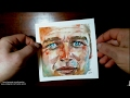 Paul Newman watercolor time lapse