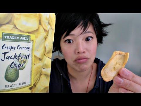 Tasting Jackfruit Chips