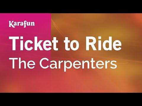 Karaoke Ticket to Ride - The Carpenters *
