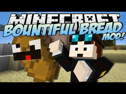 Minecraft | BOUNTIFUL BREAD MOD! (Become Lord of the Bread!) | Mod Showcase