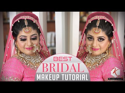 Best Bridal Makeup Tutorial | Step by Step Indian Bridal Makeup Tutorial Videos | Krushhh by Konica