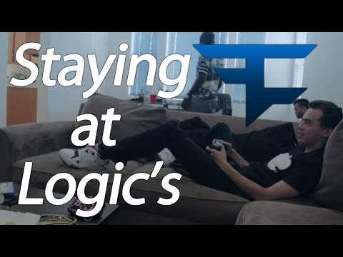 Staying at @Logic301's ft. @YesIamQuESt