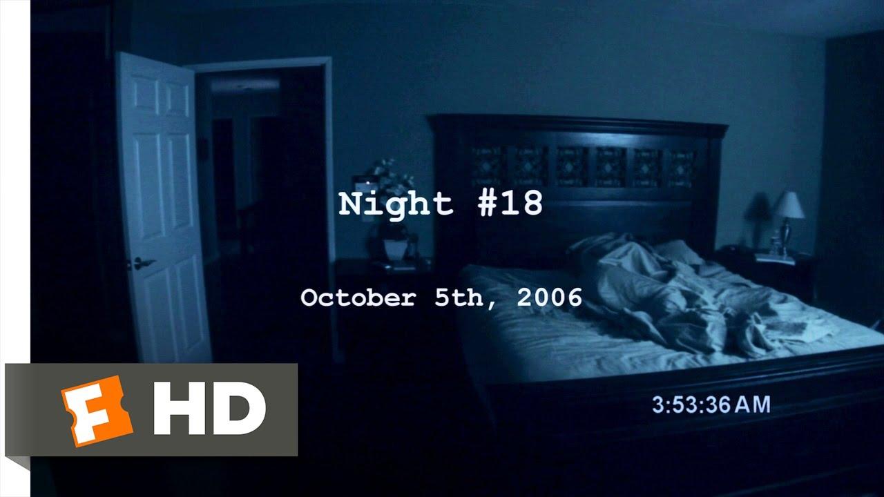 Paranormal Activity (3/9) Movie CLIP - Slamming the Door