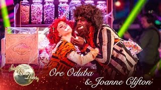 Ore Oduba and Joanne Clifton Charleston to 'I Want Candy' - Strictly 2016: Halloween Week
