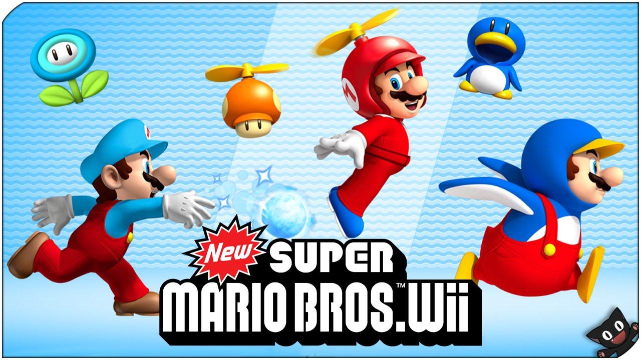New super mario bros wii u wallpaper