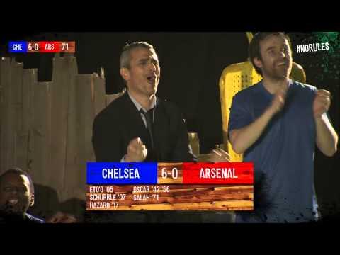 Salah goal Chelsea 6-0 Arsenal (22/03/2014) #NoRules Highlights