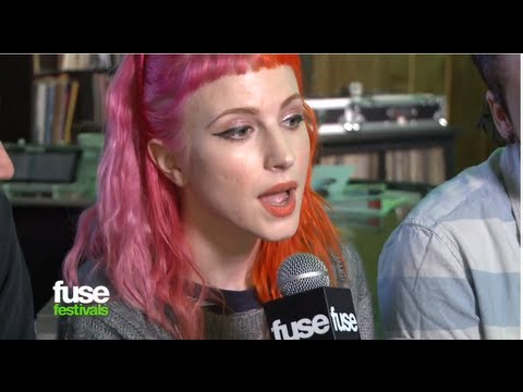 Paramore On Naming Their New Album - SXSW 2013