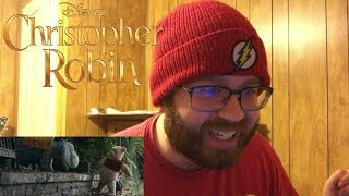 Christopher Robin Official Trailer Reaction!