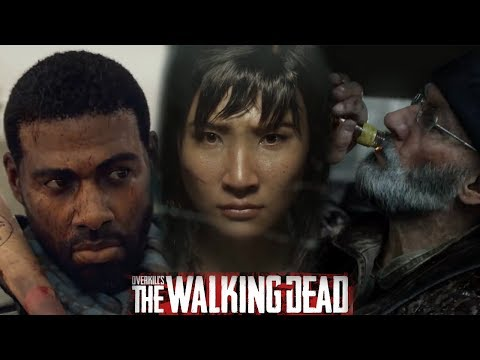 OVERKILL'S THE WALKING DEAD - ALL Trailers (NEW Zombie Game)