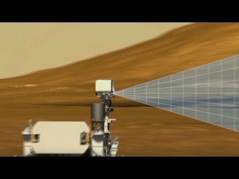 Mars rover searching for signs of life