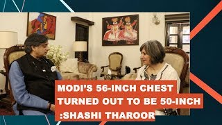 """Where Shashi Tharoor brings in the """"scorpion sitting on a shivling"""" comparison for Modi"""