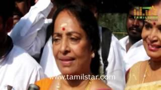 Stars At Nadigar Sangam Elections 2015 Part 2