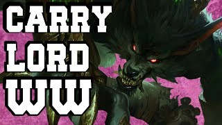 How to Carry as Warwick Jungle - WARWICK COMMENTARY GUIDE - League of Legends Jungle Guide(Season 7)