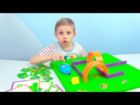 ИГРА МЫШКА В ЛАБИРИНТЕ - Развивающая Игрушка РОБОТ для детей. STEM набор Learning Resources