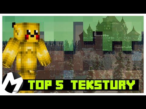[1.7] Minecraft TOP 5 | NAJLEPSZE TEKSTURY