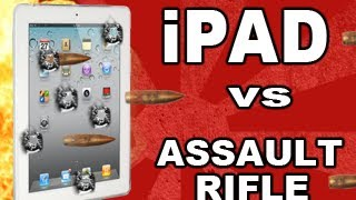 New iPad vs Assault Rifle & Benelli M4_ Tech Assassin HK53 RatedRR