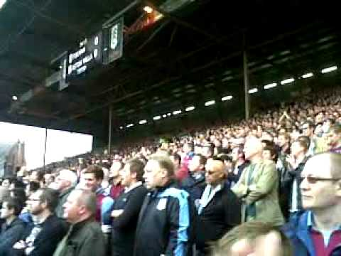 Villa fans at Fulham