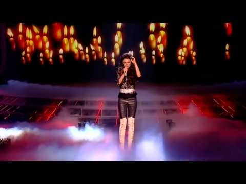 Cher Lloyd sings Love The Way You Lie - The X Factor Live Semi-Final (Full Version)