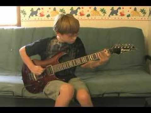 11 year old Blues Guitar Jam Music Videos