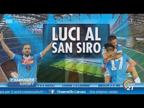 Campania Sport del 04/10/15 (Milan-Napoli 0-4)