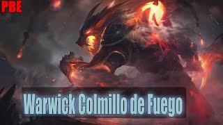 Nuevo Skin -  Warwick Colmillo de Fuego 975RP (Rework 2017)