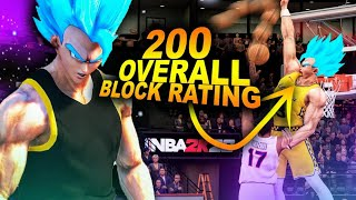 8 FOOT 200 Overall RIM PROTECTOR CATCHES Jumpshots In NBA 2K20.. Rarest Shot Blocking Animations!