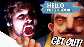HELLO NEIGHBOR SONG - Get Out (MUSIC VIDEO COVER) - Caleb Hyles