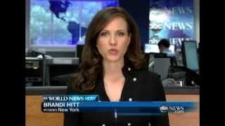 ABC World News Now - Brandi Hitt (July 10th 2012)