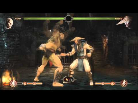 Mortal Kombat 9 : How To Play As GORO