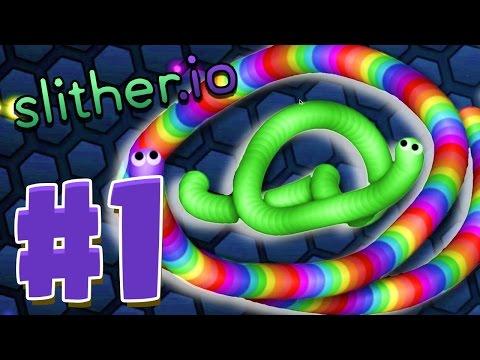 Slither.io - ТОП 150 - Офигенный обзор #1!
