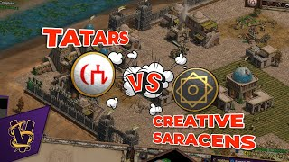1v1 Hill Fort | Tatars vs Creative Saracens