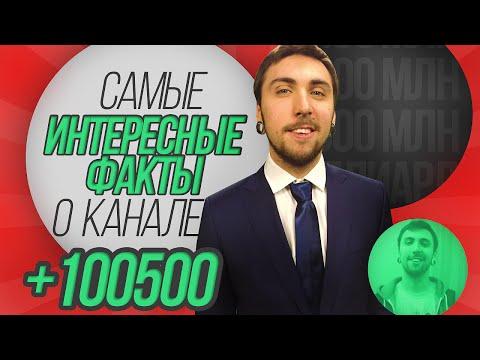 +100500 : самые интересные факты о канале    ЮТУБЕР