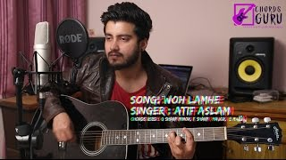 Woh Lamhe |  Guitar cover with Chords Progression  ft Ravi Zharotia | Chords Guru