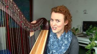 "Memorizing Harp Sheet Music using ""shapes""!"