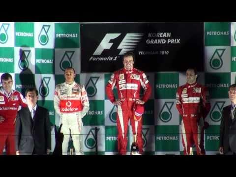 2010 F1 Korean Grand Prix Final 1080p Hd