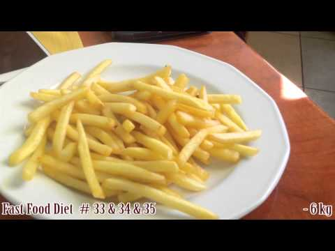 Odchudzanie - Fast Food Diet #33-35 KFC: Mega Pocket, Twister / McDonalds / Fryty / Placek - vlog
