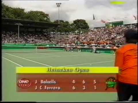 Juan Balcells vs Juan Carlos Ferrero. 1/4 ATP Auckland (NZ) 2000