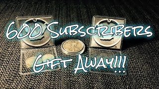 600 Subscribers Gift Away! (CLOSED!!!)