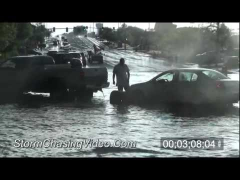 7/8/2011 Thorton, CO Flash Flooding B-Roll