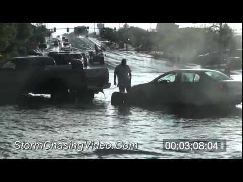 7/8/2011 Thorton, CO Flash Flooding B-Roll