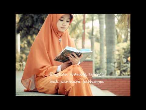 Oki Setiana Dewi ft Shindy - Wanita Syurga Bidadari Dunia lirik