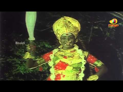 Sri Devi Mookambika Movie Scenes - Goddess Kali surprised by...