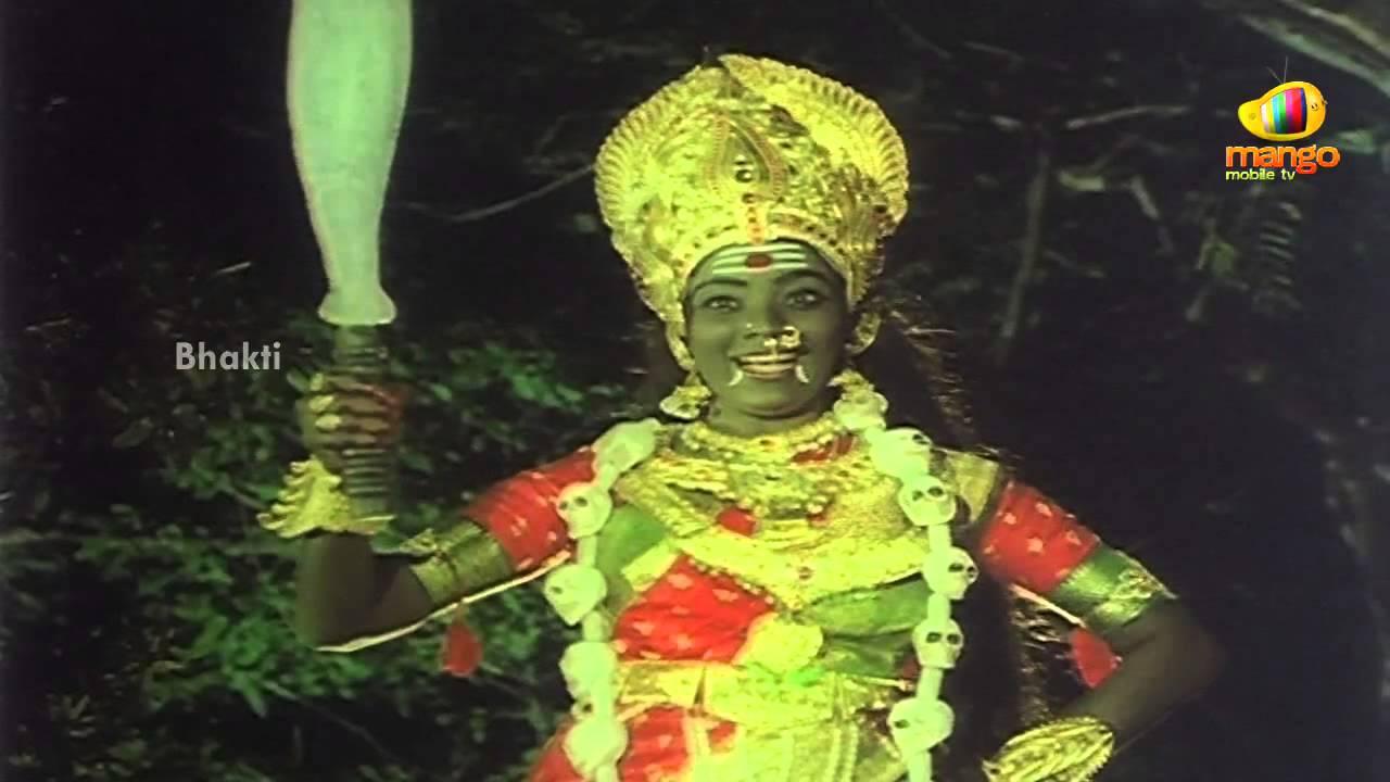 Sri Devi Mookambika Movie Scenes - Goddess Kali surprised ...