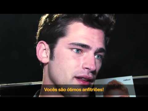 Sean O'Pry interview with FACES TV Brazil (2014) HD