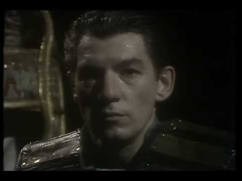 Ian McKellen as Macbeth (