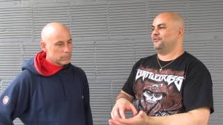 ARMORED SAINT John Bush - Interview (May 23, 2015: San Antonio, Tx.)