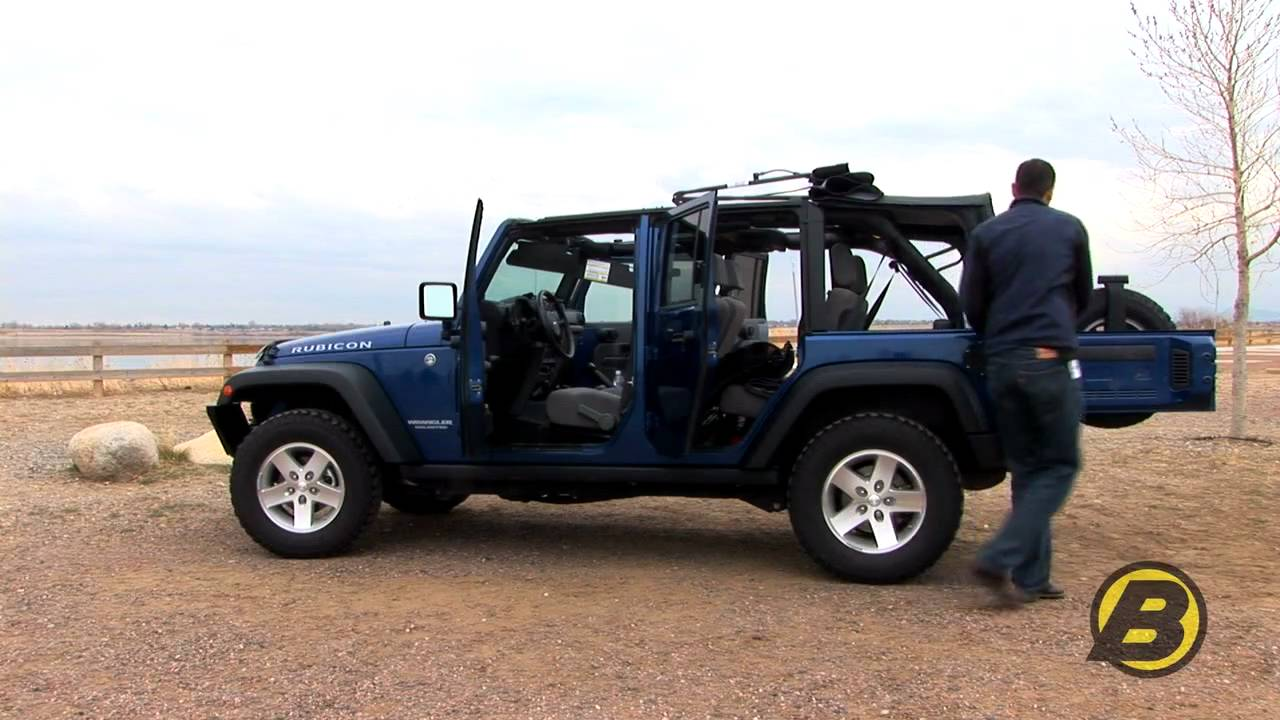 2011 Jk Soft Top >> How quickly can you raise and lower the top on your Wrangler JK? - YouTube