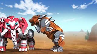 Siêu Nhân Robot Tập 20 Phút #4 | Phim Hoạt Hình Siêu Nhân 2018