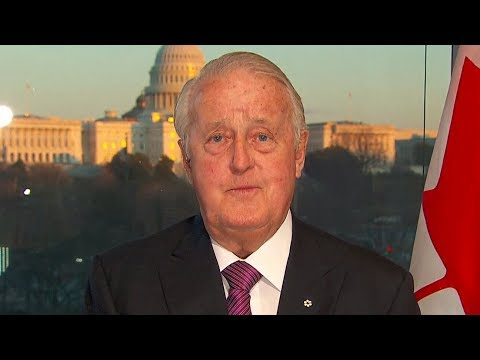 Brian Mulroney says government doing 'right thing' in NAFTA talks